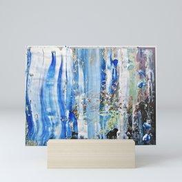 Blue Earth Abstract Mini Art Print