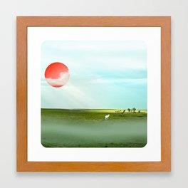 Blistering, Pondering, Wandering Framed Art Print