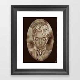 """VICTORIAN GHOST"" Framed Art Print"
