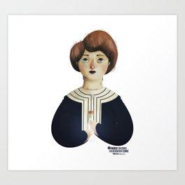 Marie Curie Art Print