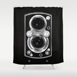 Vintage Camera Shower Curtain
