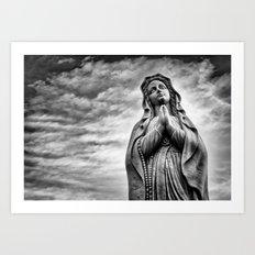 Power of Prayer Art Print