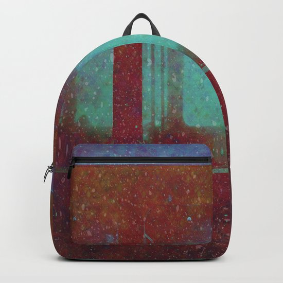 Into the City, Structure Windows Grunge Backpack