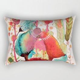 les mots doux Rectangular Pillow