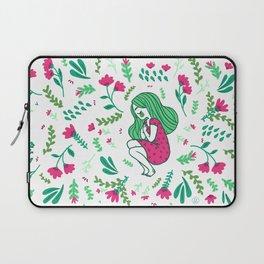 Garden Girl Laptop Sleeve