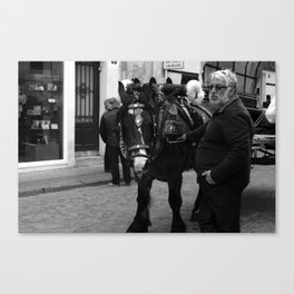 Tres Tombs Fair Canvas Print