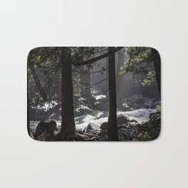 A River Runs Through Yosemite Bath Mat