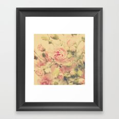 carnation pink Framed Art Print