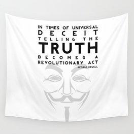 Truth Revolution Wall Tapestry