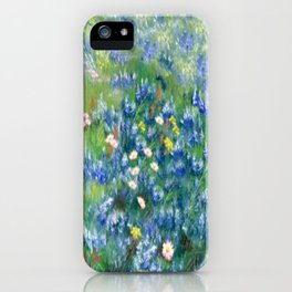 Spring Flowers in Texas iPhone Case