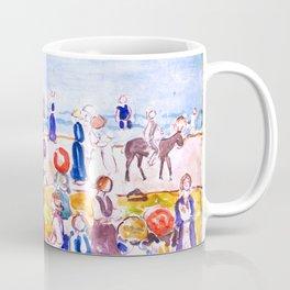 Revere Beach No. 2 by Maurice Prendergast - Belle Époque Watercolor Painting Coffee Mug