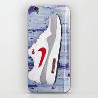 nike iPhone & iPod Skins featuring Nike by Reimer Marfil