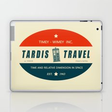 Tardis Travel - Fantasy Travel Logo Laptop & iPad Skin
