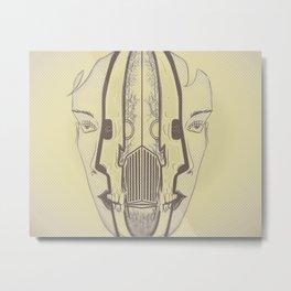 Domo Arigato, Mrs. Roboto, Metal Print