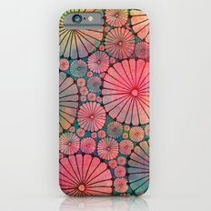 Abstract Floral Circles Slim Case iPhone 6s