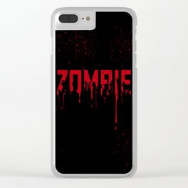 Hands of Zombie Clear iPhone Case