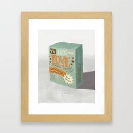 A Box of Love Framed Art Print