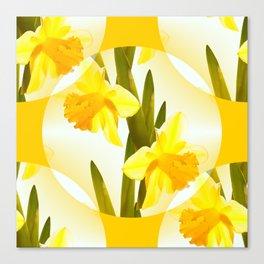 Spring Yellow Flowers #decor #society6 #buyart Canvas Print