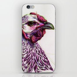 Wyandotte Chicken iPhone Skin