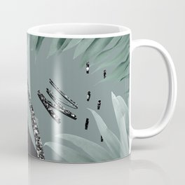 Night Palms Cali Vibes Abstract Glitter Glam #1 #tropical #decor #art #society6 Coffee Mug