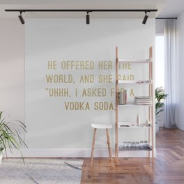 Vodka Soda Wall Mural