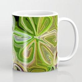 Green Lotus Large Coffee Mug