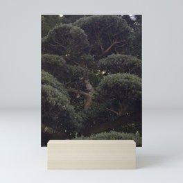 Tree in a Japanese Garden Mini Art Print