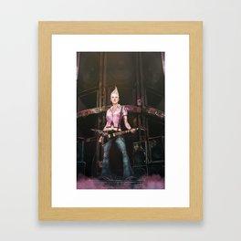 Eleven Framed Art Print