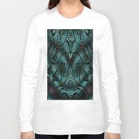 viking Long Sleeve T-shirts featuring Viking by RingWaveArt
