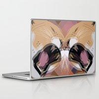 simba Laptop & iPad Skins featuring Young Simba by Original Bliss