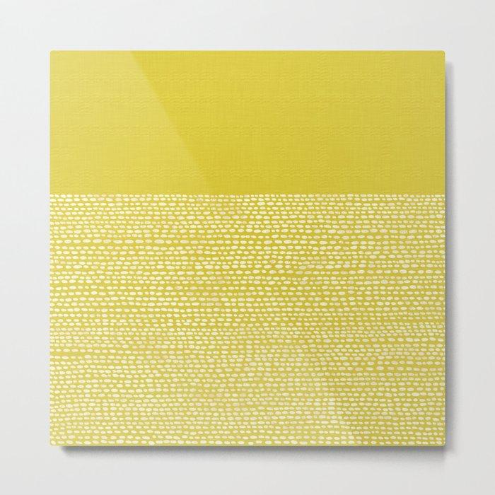 Riverside(Yellow) Metal Print