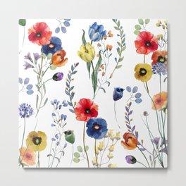 Summer Linen Metal Print