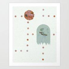 ManPac Acid 3 Art Print