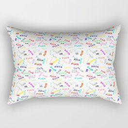 F*ck theme Rectangular Pillow
