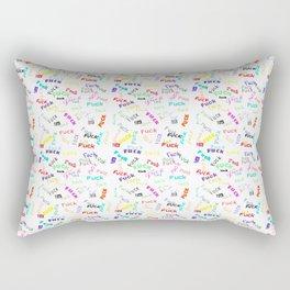 F*ck theme Rectangular Pillow