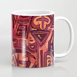 Red simbols Coffee Mug