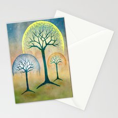 Waterfall Willows Stationery Cards