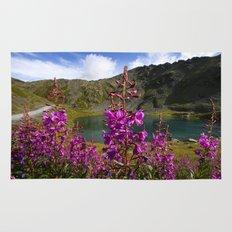 Fireweed - Hatcher Pass Alaska Rug