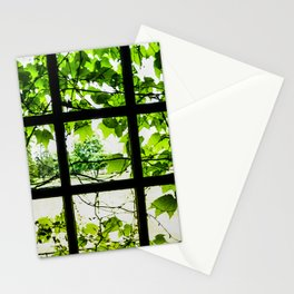 Through the Green Green Glass Stationery Cards
