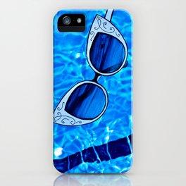 Paper Sunglasses iPhone Case