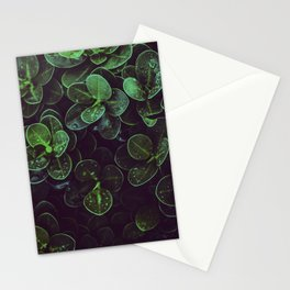 NATURE - LEAVES - FRESH - PHOTOGRAPHY Stationery Cards