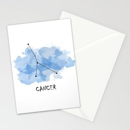 Cancer - water element Stationery Cards