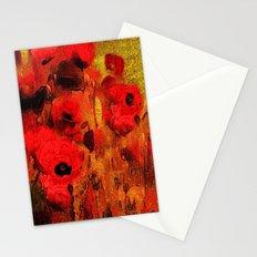 FLOWERS - Poppy reverie Stationery Cards