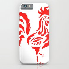 Cock a doodle doo, cockerel screen print Slim Case iPhone 6s