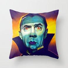 Bela Lugosi Throw Pillow