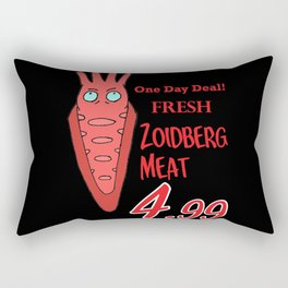 Zoidberg meat for sale Rectangular Pillow