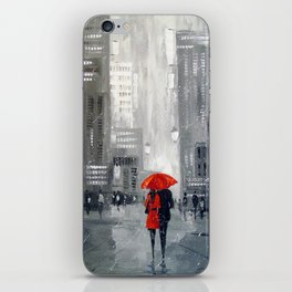 Together in new York iPhone Skin