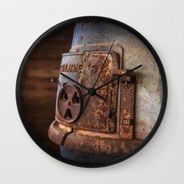 Rusty Stove Wall Clock
