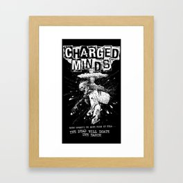 The Dead will skate the earth Framed Art Print