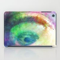 watchmen iPad Cases featuring I SPY FROM MY LITTLE EYE - 035 by Lazy Bones Studios